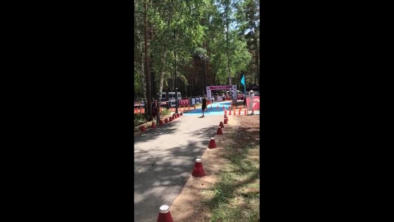 Соревнования в Боровом по биатлу и триатлу.
