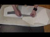 Изготовление бортового пакета для безклеевого мужского пиджака