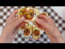 Горячие бутерброды с томатом и моцареллой