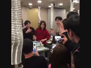 Fox Bride Star    Where Stars Land Wrap Up Party (Lee Je Hoon, Chae Soo Bin)