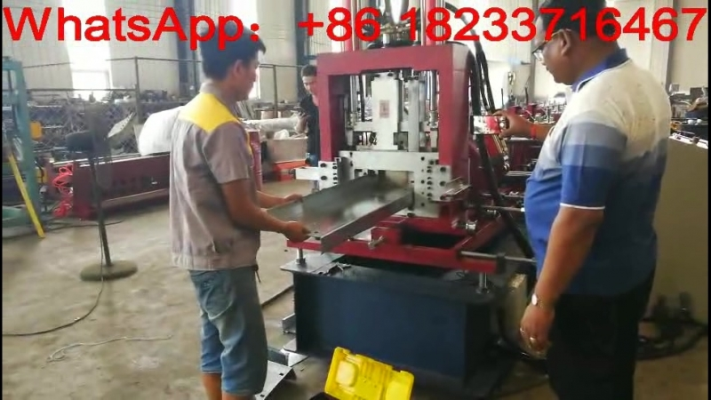 CZ purlin automatic roll forming machine