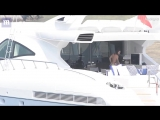 Том и Хайди на яхте вокруг острова Понца (07.08.2018, Италия)