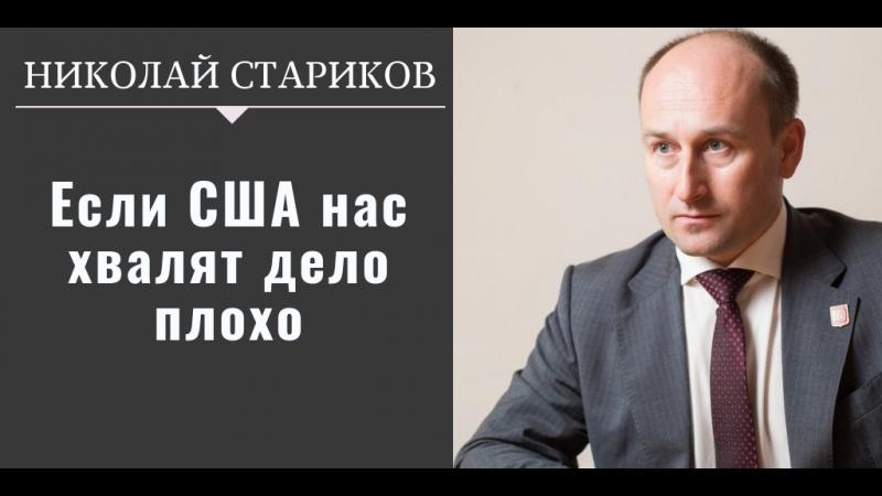 Николай Стариков: если США нас хвалят дело плохо