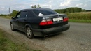 Saab 9-5 3.0 V6 Turbo. MGRace muffler sound passing by.