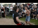 Боксер против Умеда, Крутой Бой !