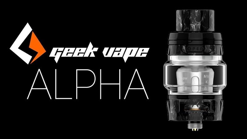 Обзор на новый мощный бак от GeekVape - Alpha RTA | Review GeekVape - Alpha RTA