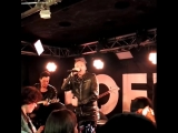 Poets of the Fall - Carnival of Rust (acoustic, part) @ Freetime, Jyvaskyla, 10.05.2018