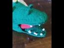 логопедическая игрушка крокодил