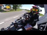 Bavarian Outlaws Supermoto Fun KTM 690 SMC-R Yamaha WR 250X HD 60fps