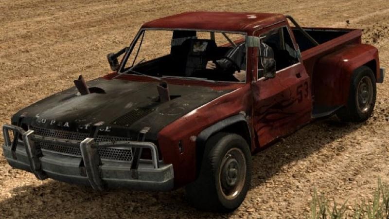 FlatOut: Ultimate Carnage GamePlay - Chevrolet C-20 AKA Roamer - Farmlands ✅ ⭐ 🎧 🎮