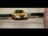 Дрифт в городе Москва-Сити BMW M4
