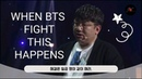 [Eng Es PT Sub] BTS this is what happens when they get in the fight Behind The Scene 방탄 싸움 대처방법