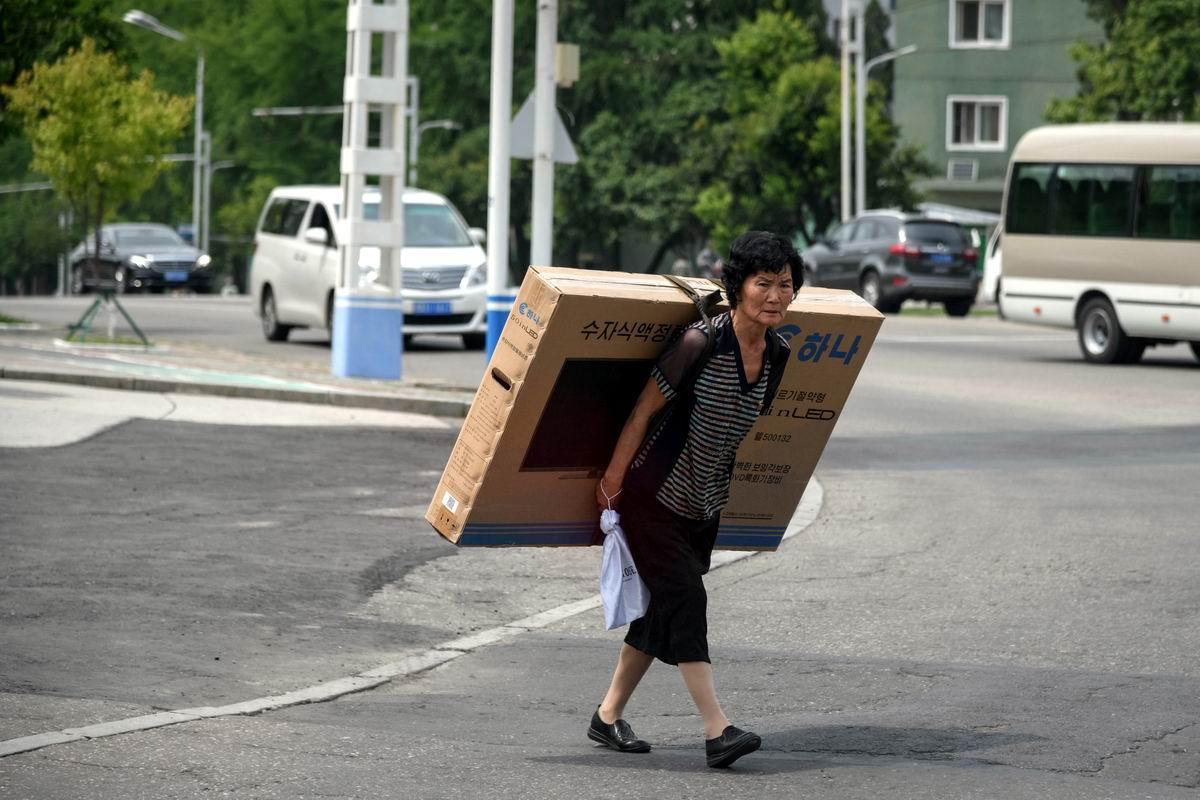 Жить стало лучше, жить стало веселее: Картинка из жизни северокорейского Пхеньяна
