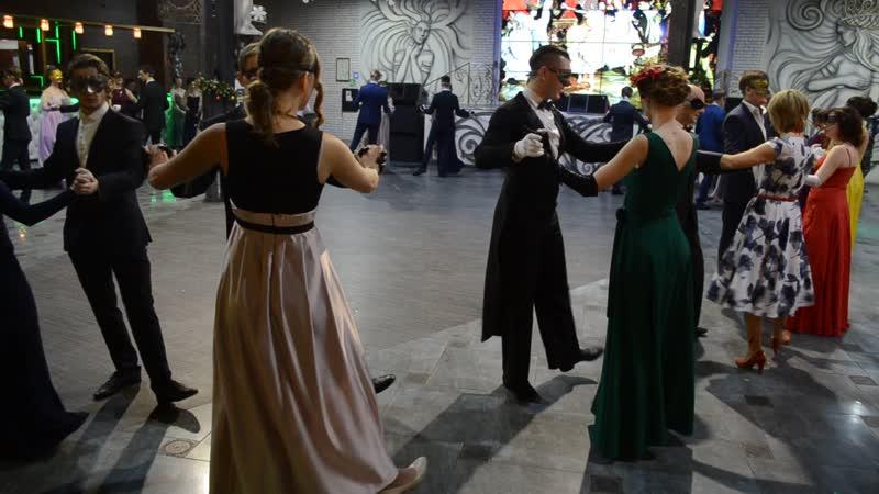 Святочный бал маскарад в Липецке гостей познакомили с традициями бальной культуры