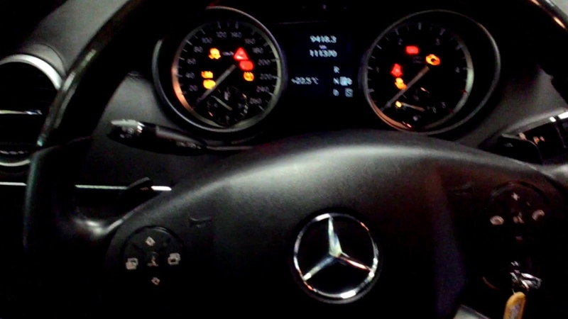 Mercedes GL X164 rearview camera activation
