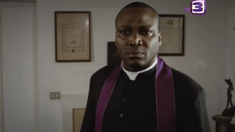 Священник выпадает из окна (Отрывок из сериала Тринадцатый апостол)