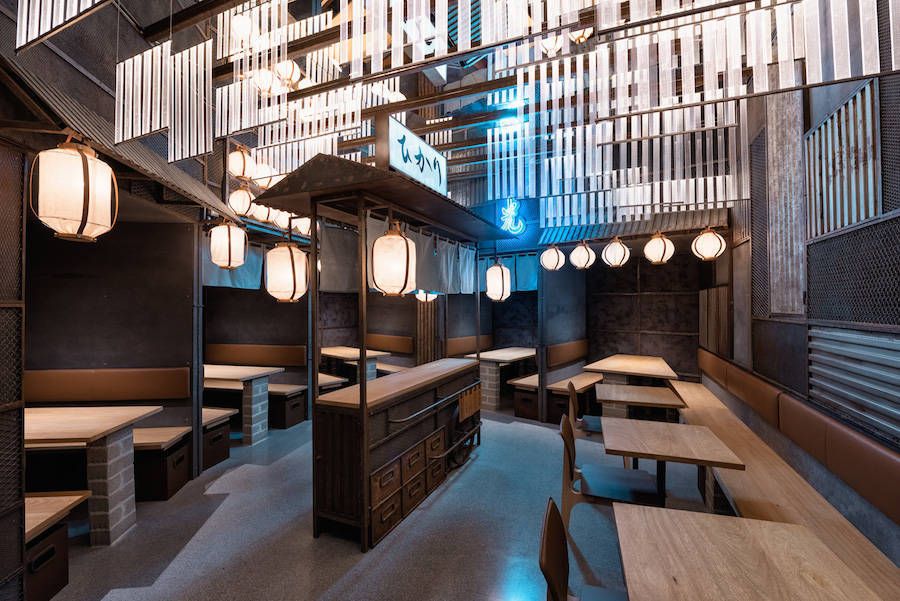 Brand New Design Japanese Restaurant in Valencia