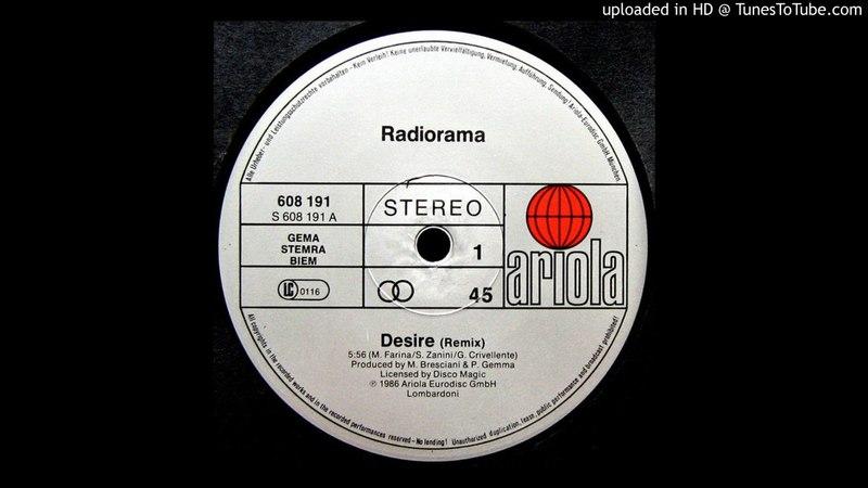 Radiorama - Desire (Remix)