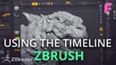 Using the Timeline in ZBrush for Presentation