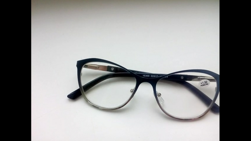 Женские очки для коррекции зрения, белая линза, металлическая оправа