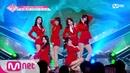 [ENG sub] PRODUCE48 [단독/4회] '쳐다만 봐도 매력이 뿜뿜' 빼꼼빼꼼ㅣAOA ♬단발머리_1조 @그룹