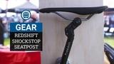 Redshift ShockStop Seatpost &amp Stem - Adjustable Suspension for Rough Riding