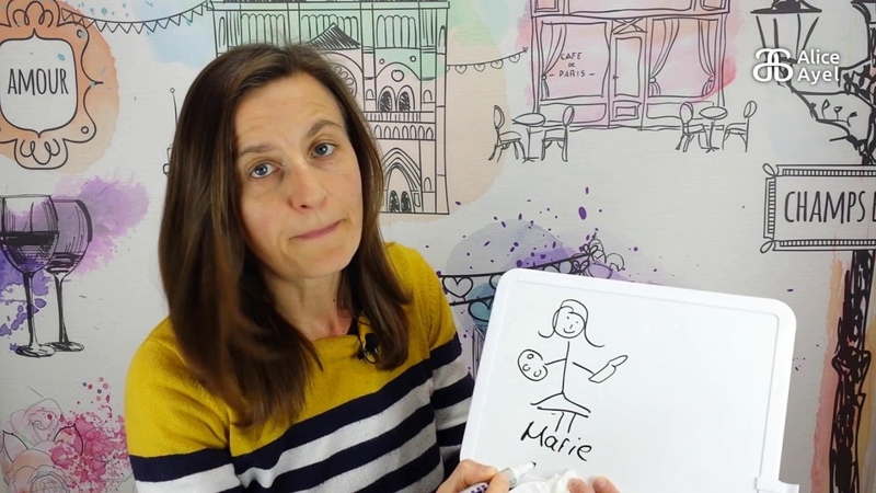 French the natural way - Story 3 Marie veut une vraie girafe
