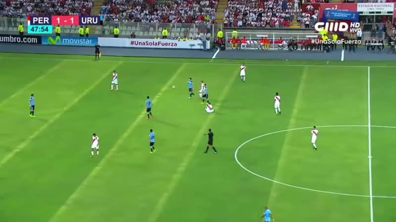 PERU vs URUGUAY 2 - 1 ELIMINATORIAS RUSIA 2018 PARTIDO COMPLETO FULL HD [VDownloader]