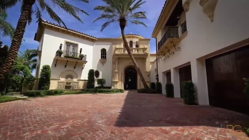 Mediterranean Style Home in Admirals Cove