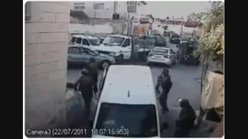 🔰RECORDED➤ KIDNAPCamera recorded the kidnap of Palestinian children by Israeli occupation forces