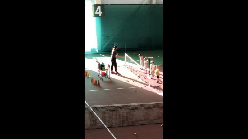 Тренировка номер 2 Кристина Царенко
