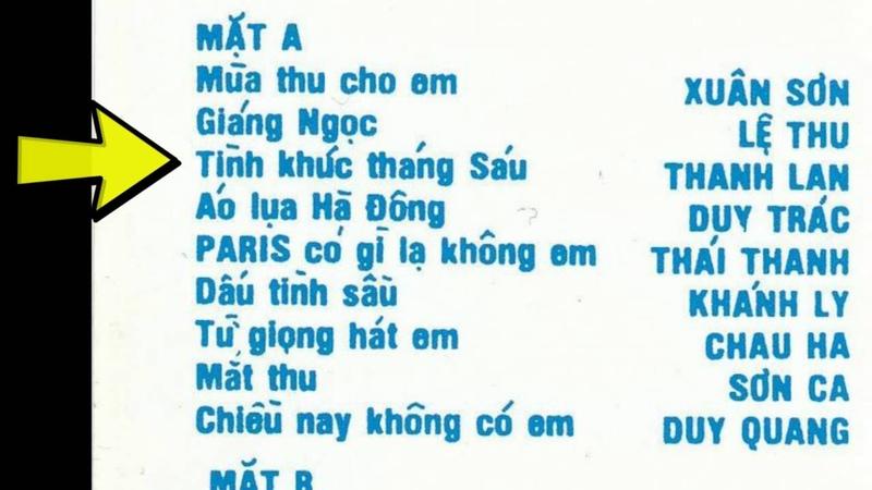 17 Tình Ca Ngô Thụy Miên-Bản Ghi Âm Trước Năm 1975