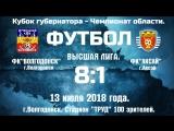 13.07.18.Обзор матча ФК