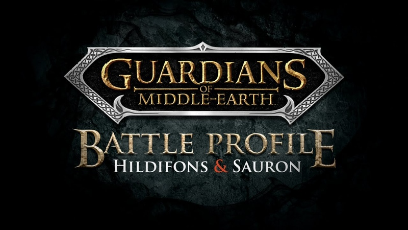 Hildfons and Sauron: Battle Profile - Guardians of Middle-earth