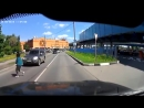 Наглядный пример, почему необходимо соблюдать скоростной режим в городе.