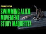 The studioADI Collection - Swimming Alien Movement Study
