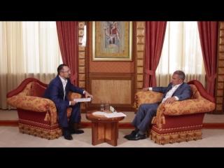 Президент РТ Рустам Минниханов про критику, Instagram и настроение бизнеса / Рустам Минниханов - Интервью