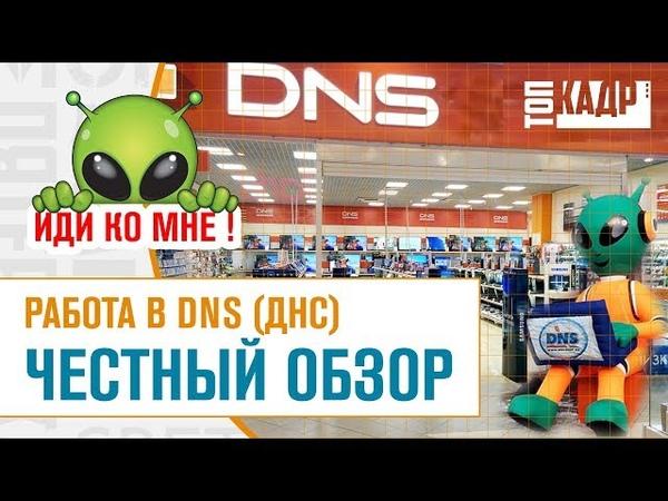 Работа в ДНС DNS ЧЕСТНЫЙ ОБЗОР Топ Кадр