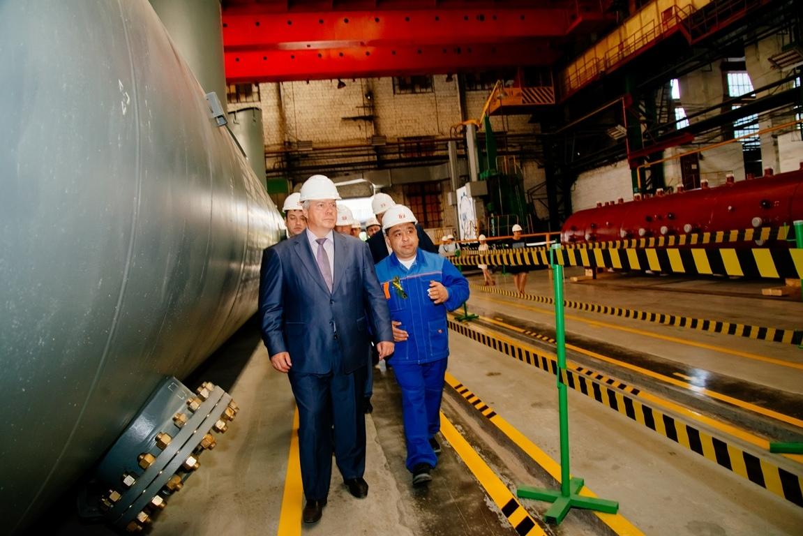«Красный котельщик» с официальным визитом посетил Губернатор Ростовской области