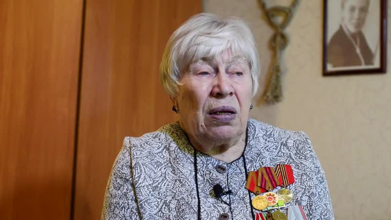 О Сталине жительница блокадного Ленинграда Тамара Александровна Савченко)