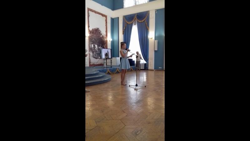 Выступление Арины Никифоровой на Международном конкурсе переводов 17 сентября 2018