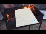 Фиброцементные панели не горят!
