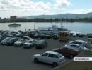 В Красноярске набережную Енисея очистят от машин и кальянных