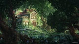 Ipad ProCreate Digital Painting - Forest House - Time-lapse