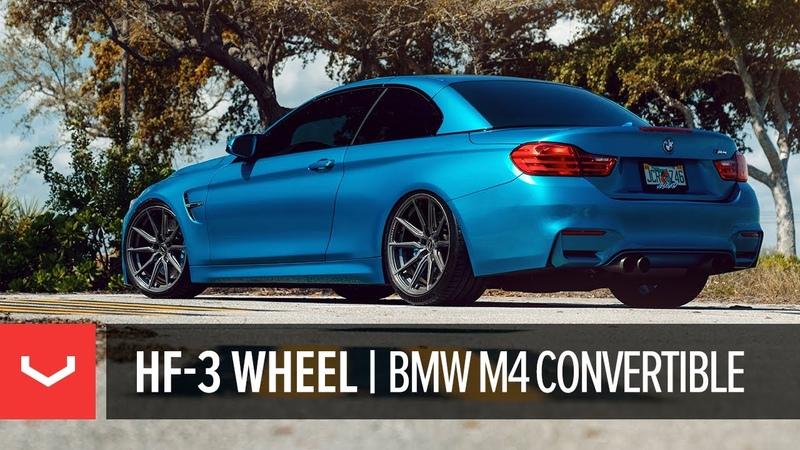 Vossen Hybrid Forged HF-3 Wheel | F82 BMW M4 Convertible