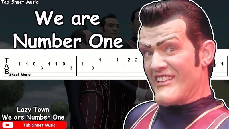 We are Number One (Robbie Rotten) - Guitar Tutorial