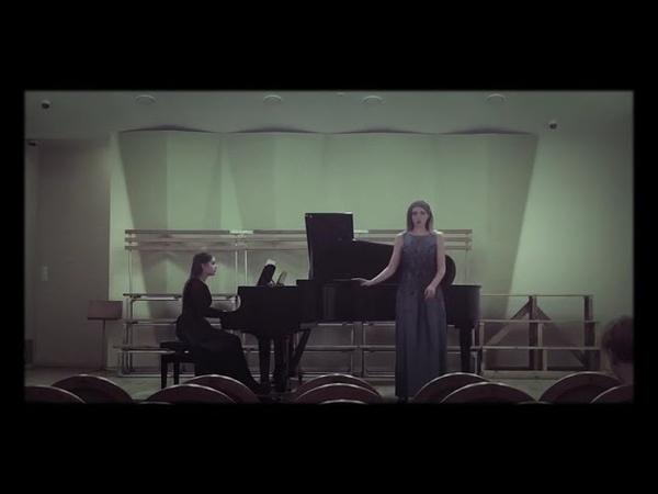 Елизавета Гродзинская «Утро»С.Рахманинов.Партия фортепиано Алина Виленкина