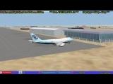 BOEING 747 VATSIM Каир-Кипр-Анкара-София-Одесса-Киев-Москва