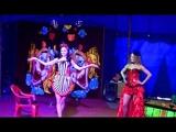 Шоу мыльных пузырей в московском цирке-шапито