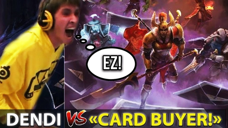 Dendi destroying Cards-Buyer in Artifact - EZ GAME FOR DONDO [Stream with Voice!]